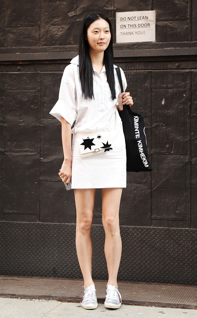 Sunghee Kim From Street Style At New York Fashion Week Spring 2016 E News