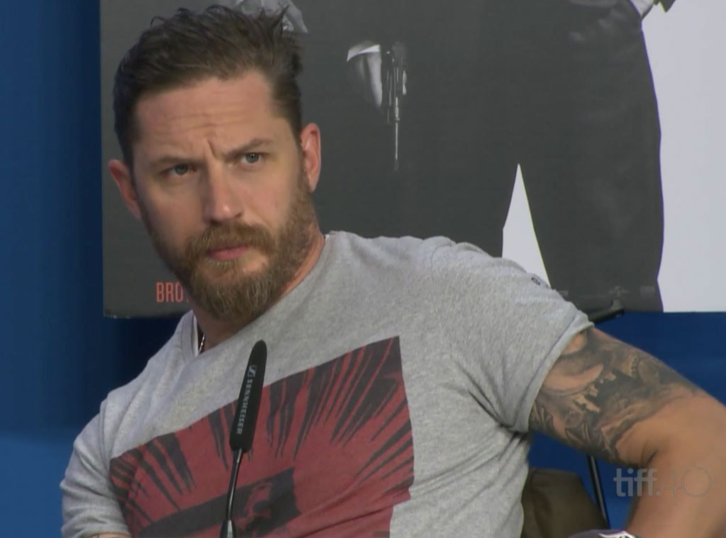 Tom Hardy, TIFF, Toronto International Film Festival