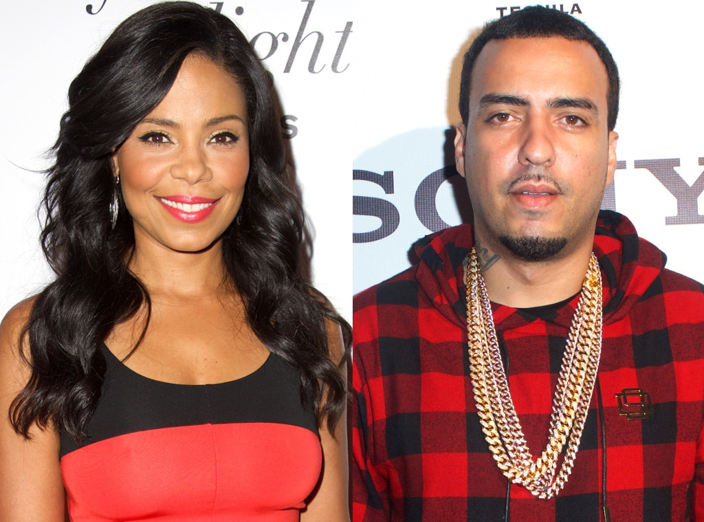 Image: Sanna Lathan and French Montana