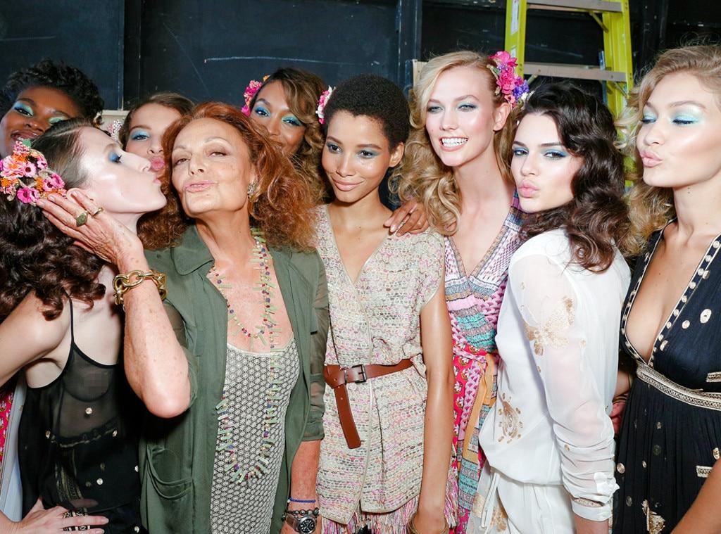 Diane von Furstenberg, Karlie Kloss, Kendall Jenner, Gigi Hadid, NYFW