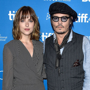 Dakota Johnson, Johnny Depp