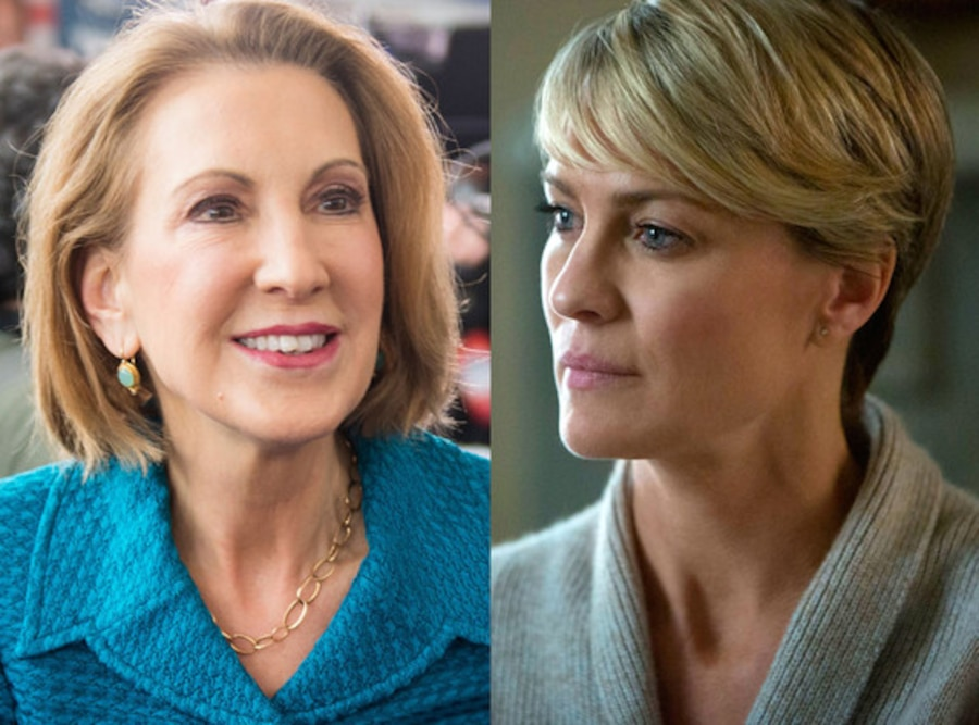 Carly Fiorin, Robin Wright, House of Cards