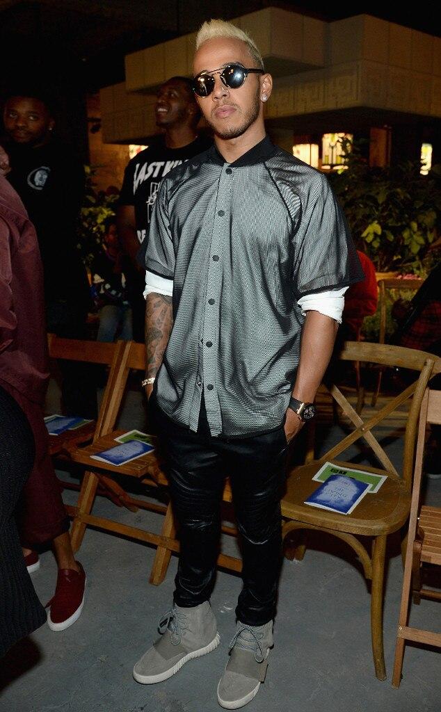 Lewis Hamilton, Stars at NYFW