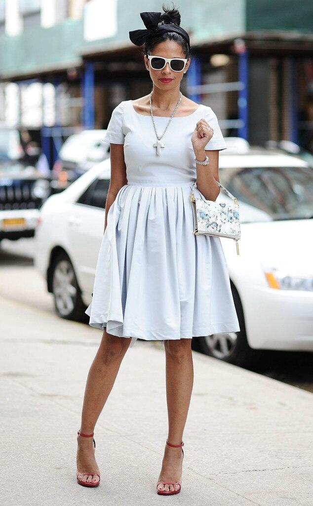 Verky Baldonado From Street Style At New York Fashion Week Spring 2016 E News