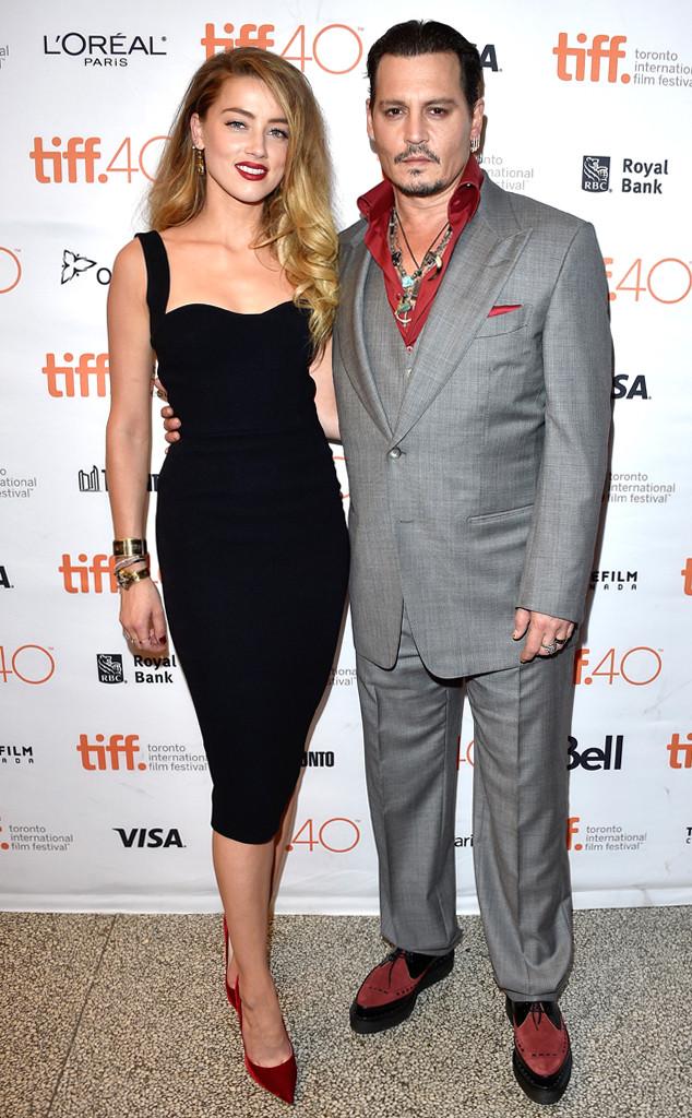 Amber Heard, Johnny Depp, TIFF