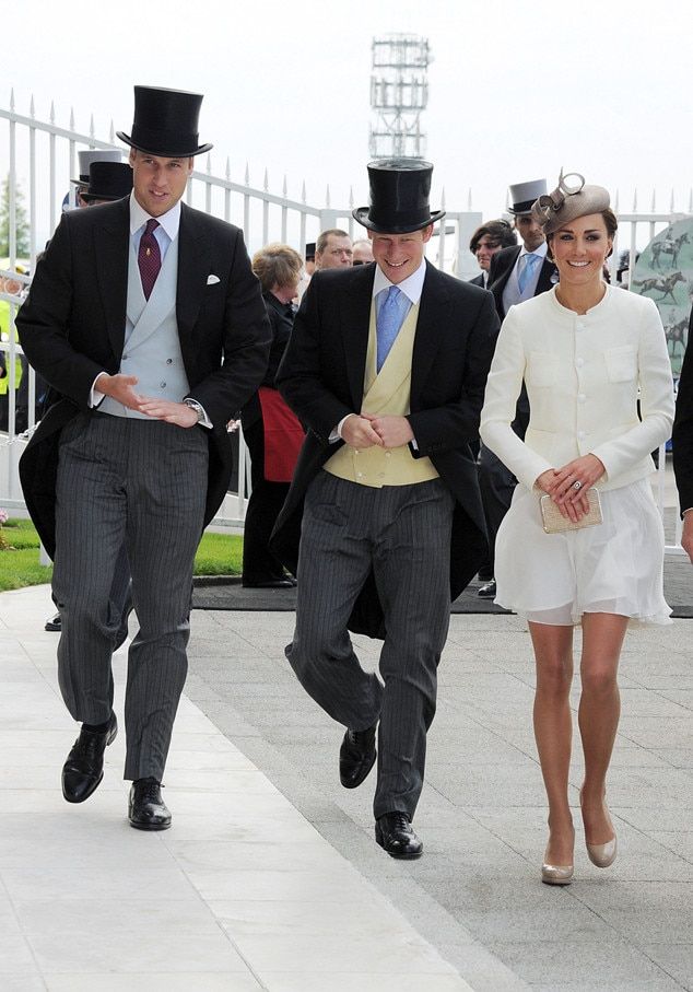 Prince William, Prince Harry, Kate Middleton