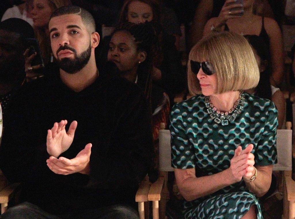 Drake, Anna Wintour, NYFW