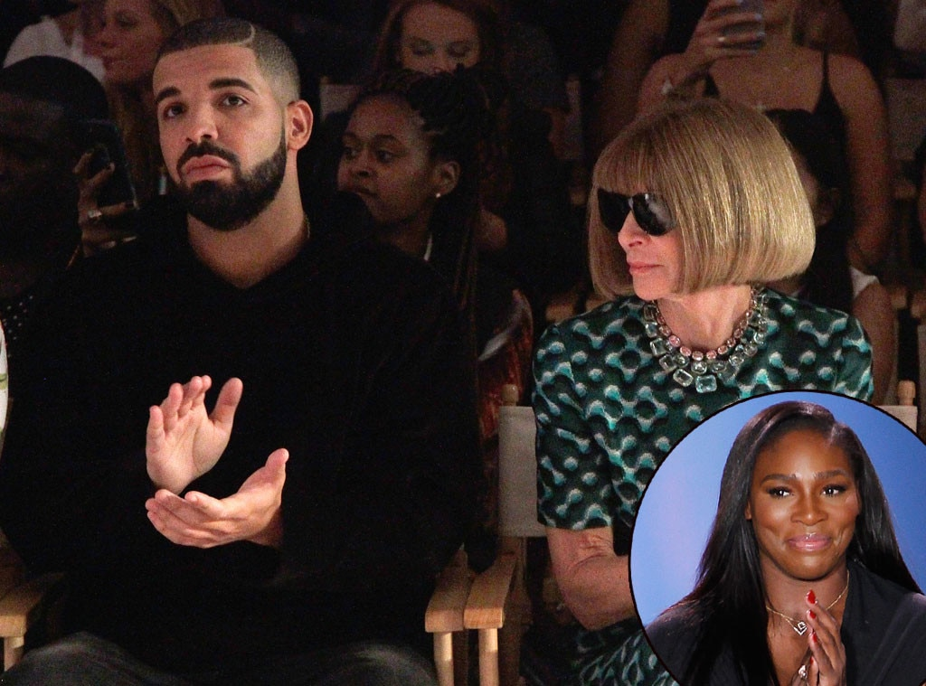 Serena Williams, Drake, NYFW