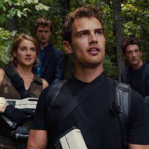 Divergent, Allegiant, Shailene Woodley, Theo James, Maggie Q, Zoe Kravitz, Ansel Elgort, Miles Teller