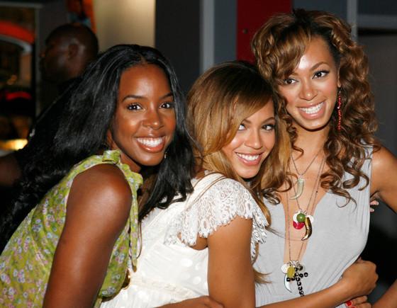 Kelly Rowland, Beyonce, Solange