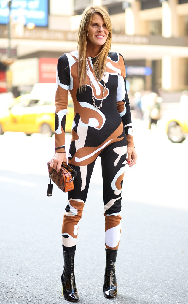 Anna Dello Russo From Street Style At New York Fashion Week Spring 2016 E News