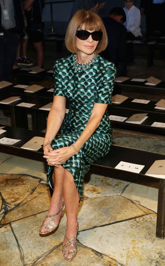 Anna Wintour, Stars at NYFW