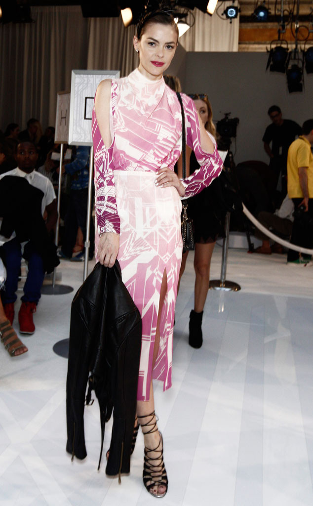 Jaime King, Stars at NYFW