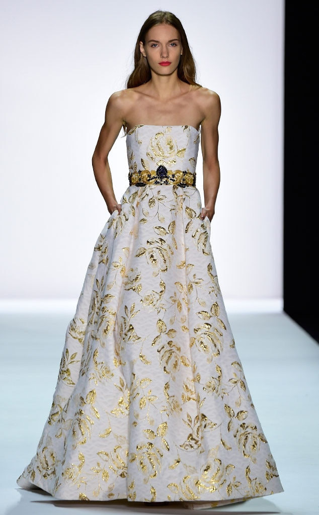 Badgley mischka from best looks at new york fashion week for Badgley mischka store nyc