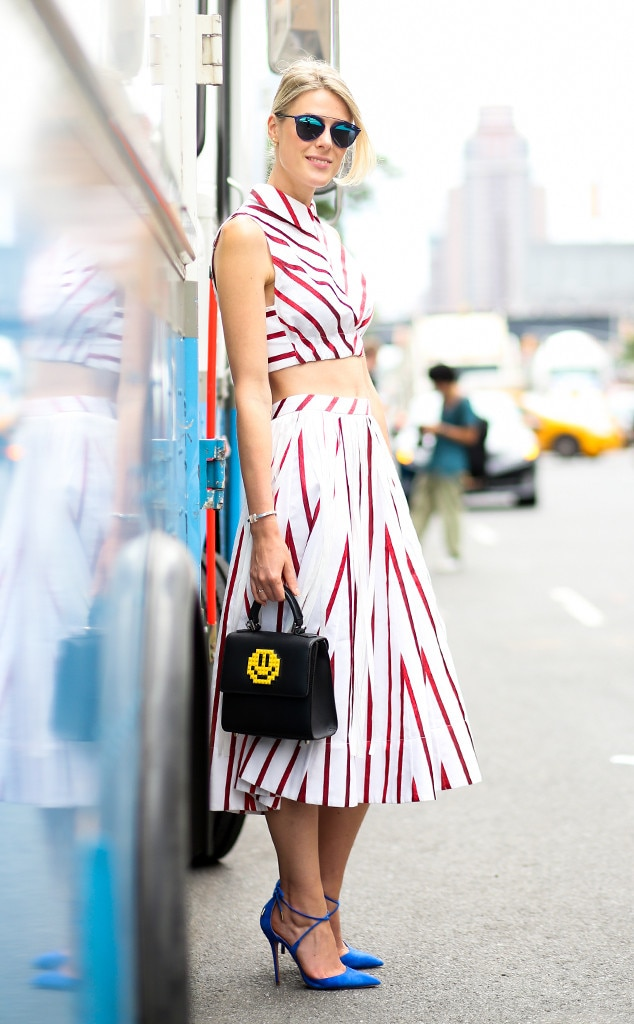 Sofie Valkiers From Street Style At New York Fashion Week Spring 2016 E News Uk