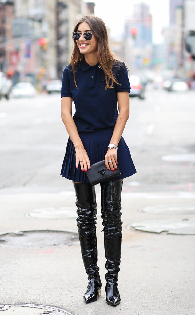 Patricia Manfield From Street Style At New York Fashion Week Spring 2016 E News