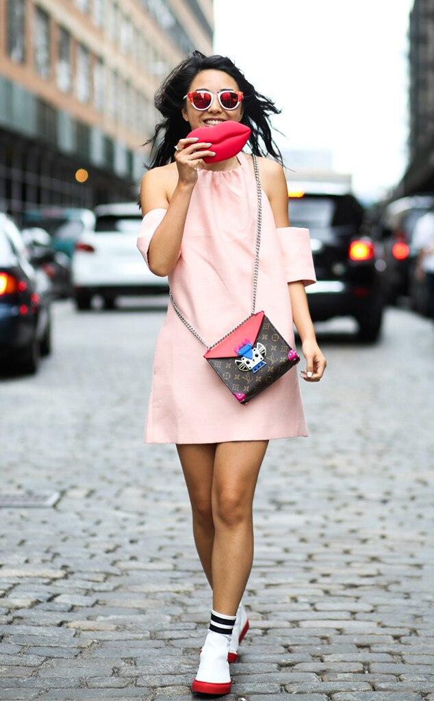 Yuwei Zhangzou From Street Style At New York Fashion Week Spring 2016 E News Uk