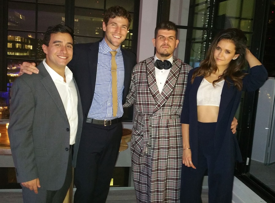 Nina Dobrev, Austin Stowell, Eli Mizrahi