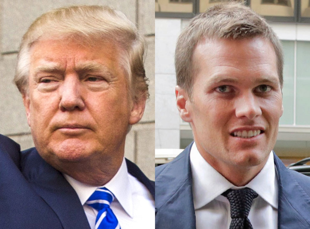 Tom Brady, Donald Trump