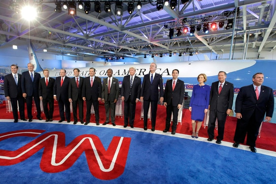 Republican Debate, Candidates