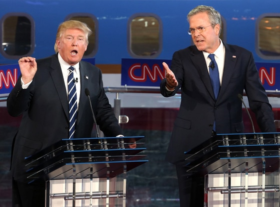 Republican Debate, Donald Trump, Jeb Bush