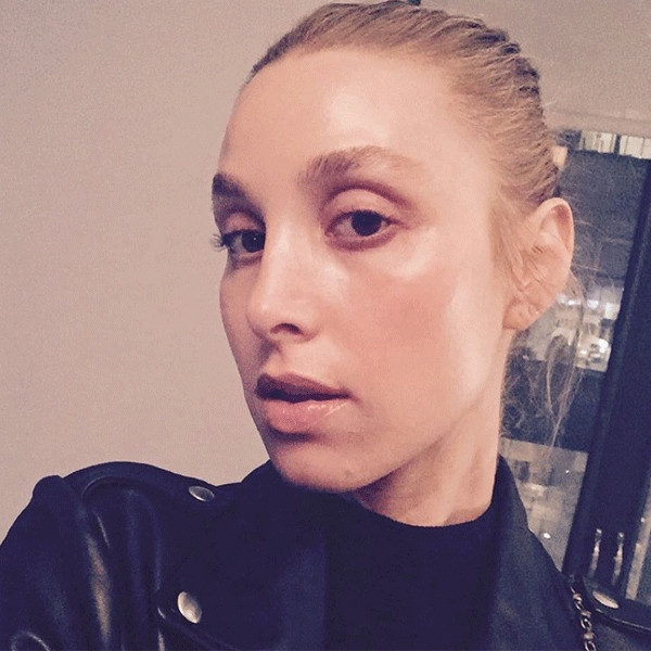Whitney Port, Makeup-Free Selfie, Instagram