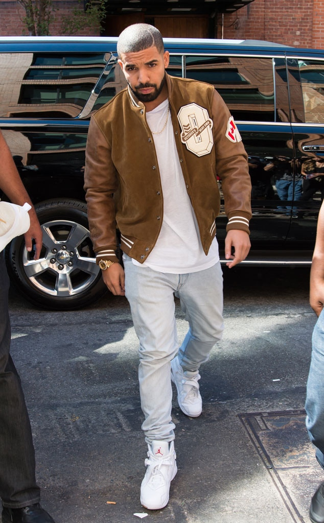Drake From Stars At New York Fashion Week Spring 2016 E