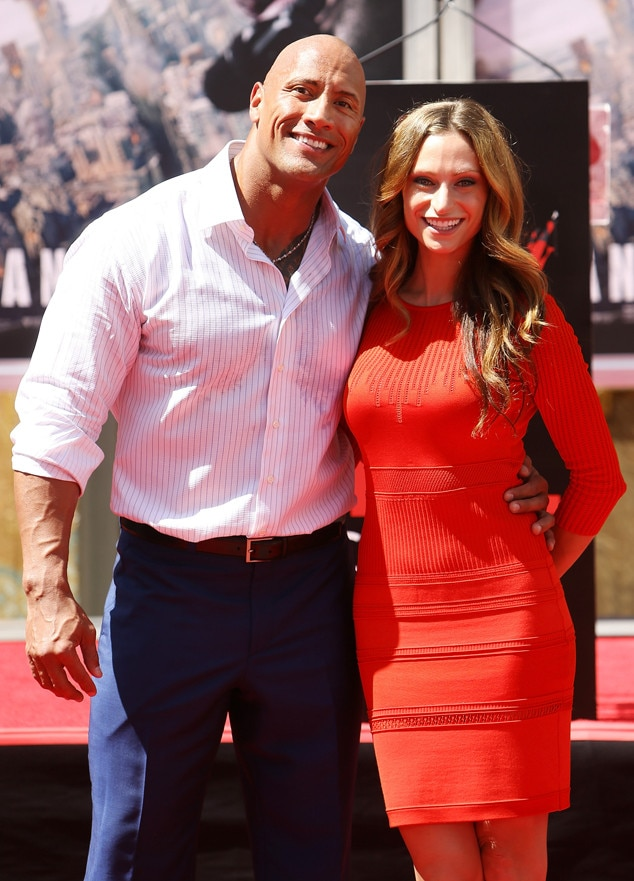 Dwayne The Rock Johnson, Lauren Hashian