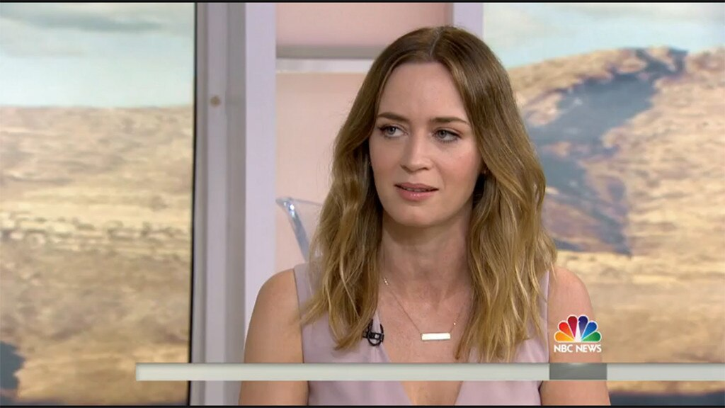 Emily Blunt, Today Show