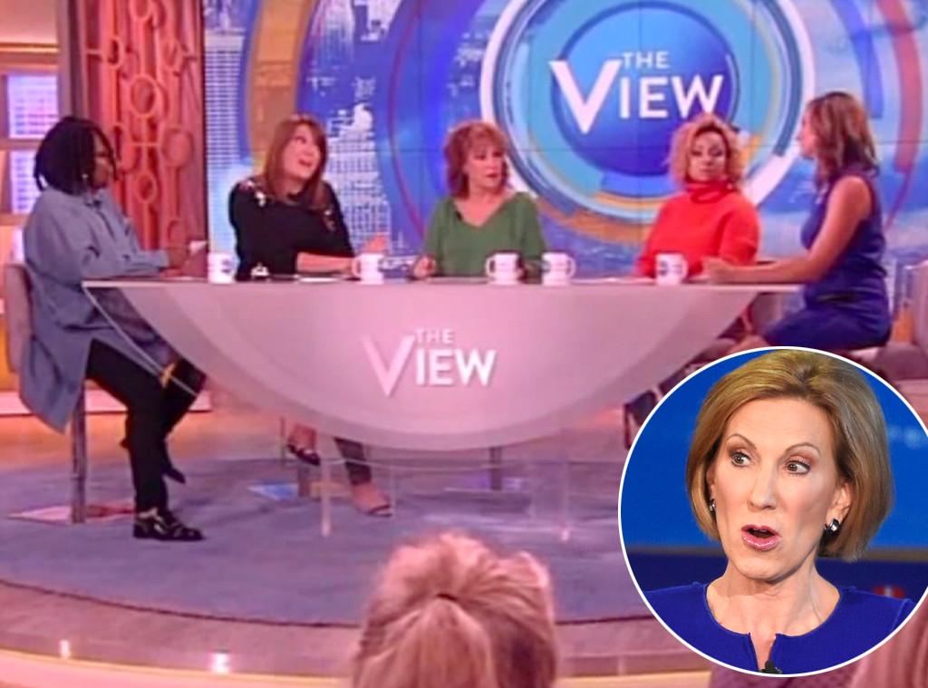 The View, Republican Debate, Carly Fiorina
