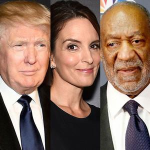 Donald Trump, Tina Fey, Bill Cosby