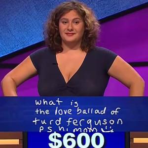 Jeopardy, Turd Ferguson, SNL