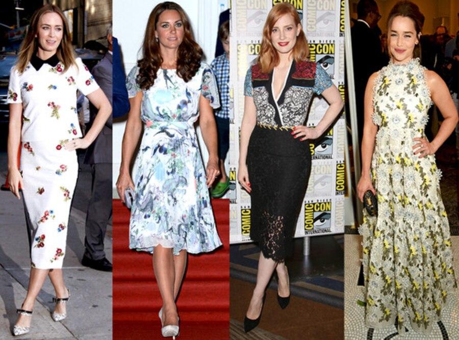 Celebrity London Fashion Week Guide, Erdem