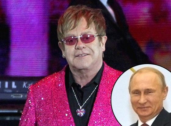 Sir Elton John, Vladimir Putin