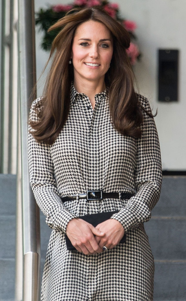 Kate Middleton Wears A Ralph Lauren Dress For Her First