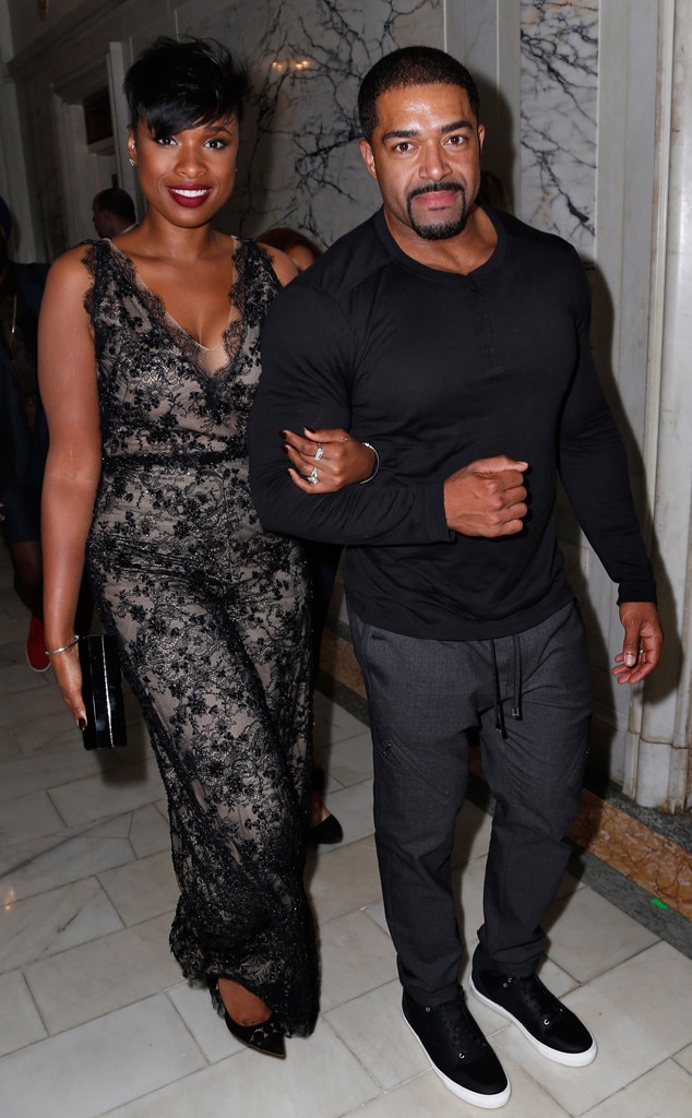 Jennifer Hudson, David Otunga, NYFW