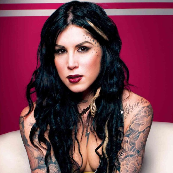 kat von d from famous animal rights activists e news. Black Bedroom Furniture Sets. Home Design Ideas