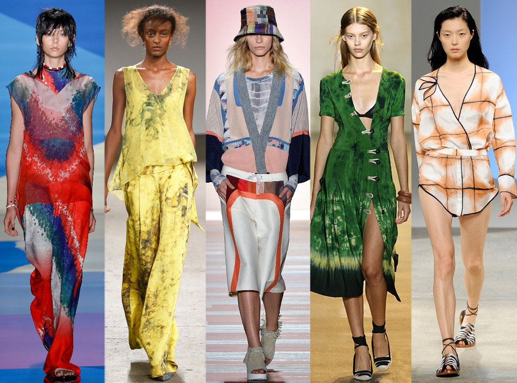 Tie Dye Prints From Biggest Trends At New York Fashion Week Spring 2016 E News