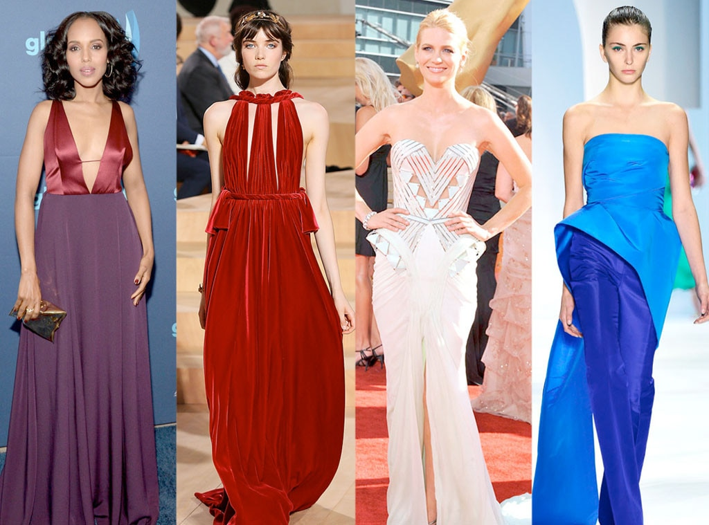 Emmy Gown Predictions, Kerry Washington, January Jones