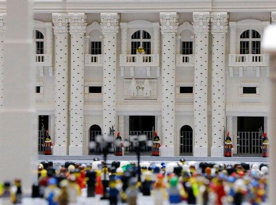 Bob Simon, LEGO Vatican