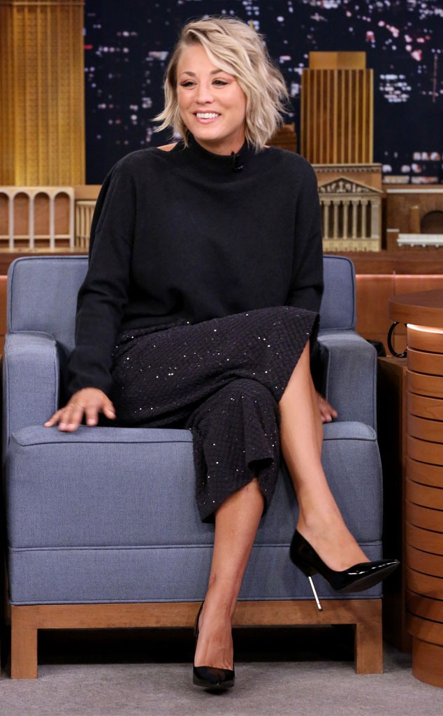 Kaley Cuoco, Tonight Show