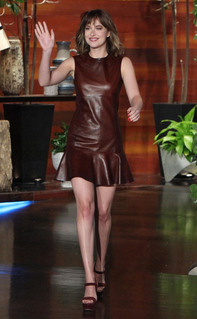 Dakota Johnson, Ellen Show