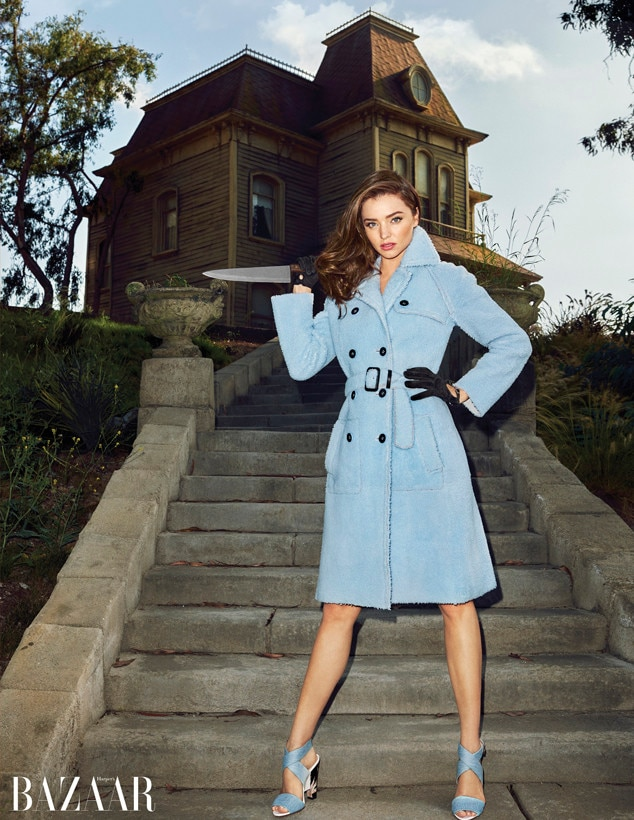 Miranda Kerr, Harper's BAZAAR, EMABRGO untill 9/21 at 8am EST