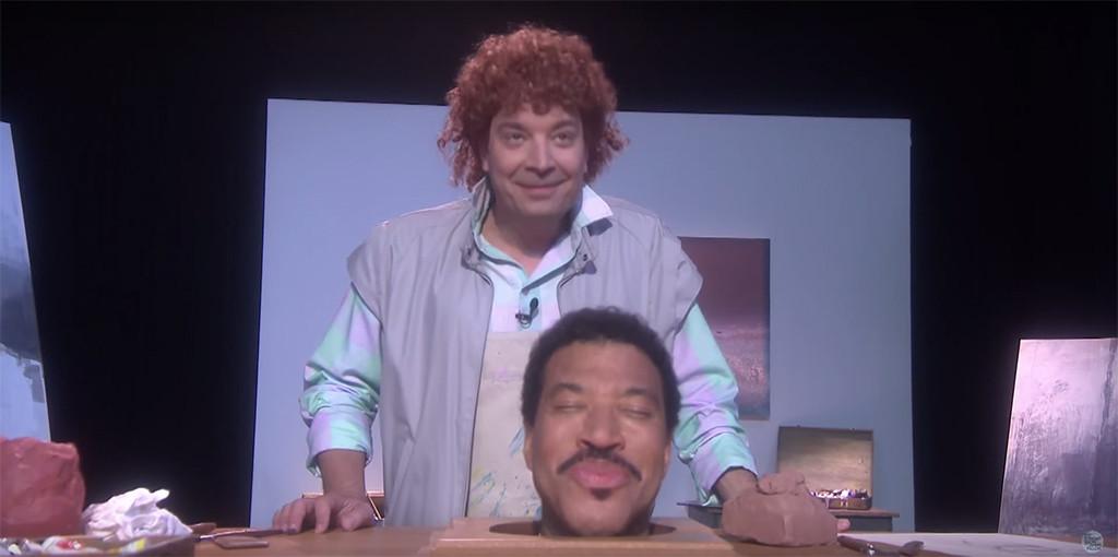 Jimmy Fallon, Lionel Richie, The Tonight Show