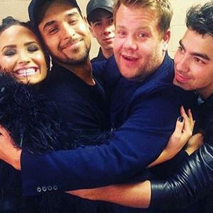 Demi Lovato, Nick Jonas, Joe Jonas, Wilmer Valderrama