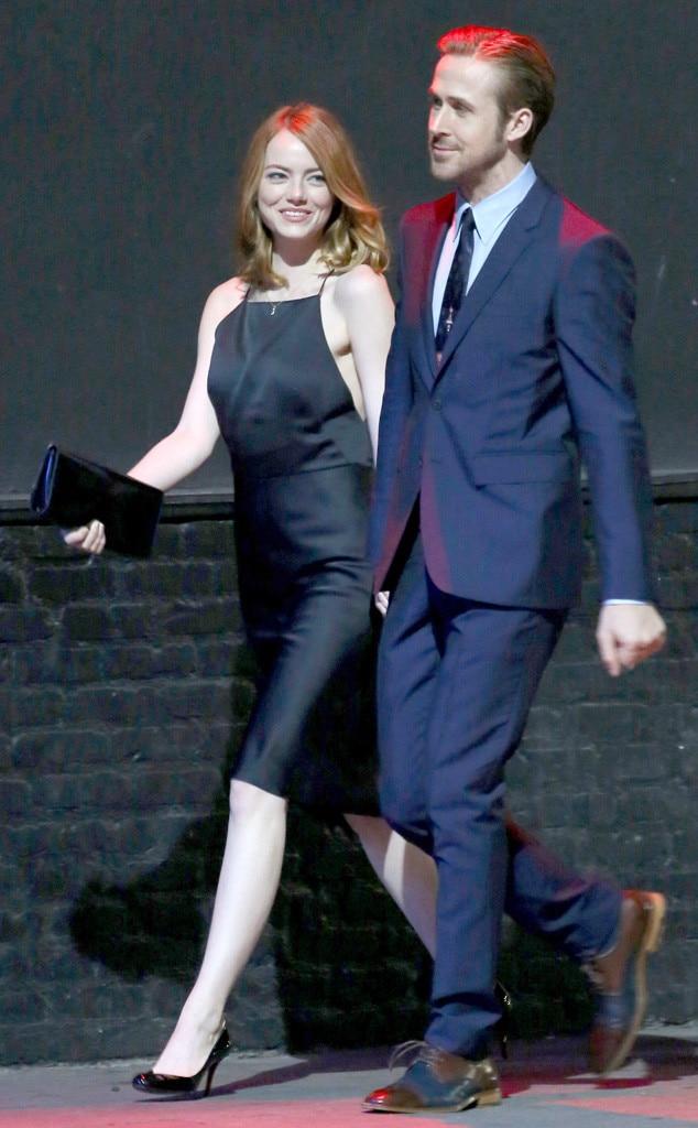 Emma Stone & Ryan Gosling from Snapped on Set: Movies | E ... Emma Stone And Ryan Gosling