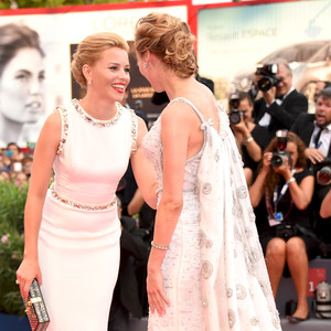Elizabeth Banks and Diane Kruger, Venice