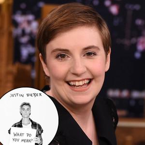 Lena Dunham, Justin Bieber