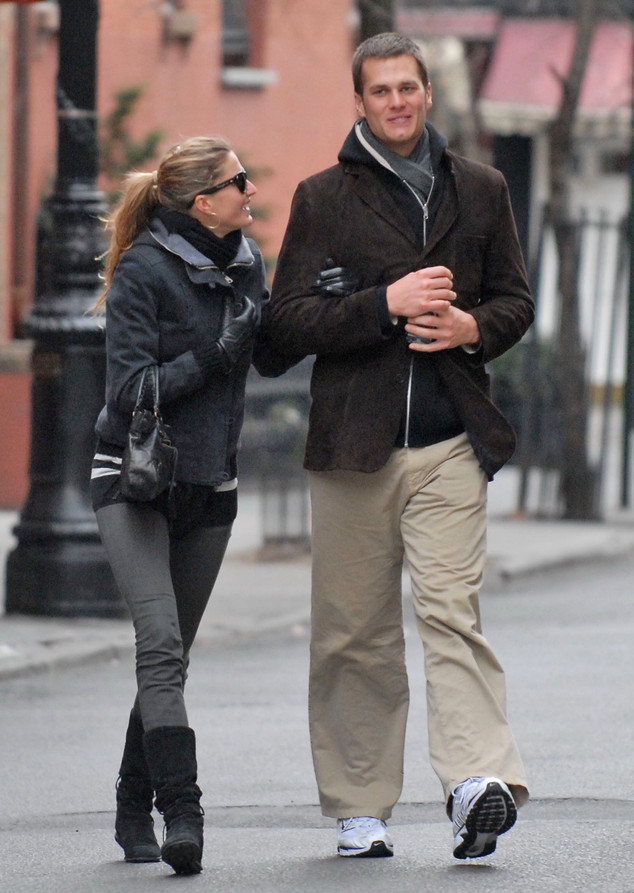 Gisele Bundchen, Tom Brady, 2007
