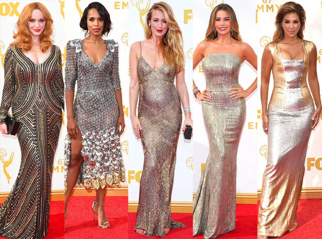 Gold Hardware, Emmy Awards 2015